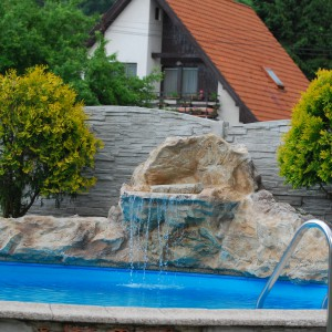 Vodopad bazen